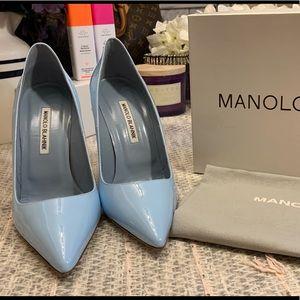 Manolo Blahnik...Light/Powder Blue